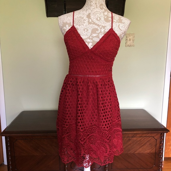 Abercrombie & Fitch Dresses & Skirts - Abercrombie & Fitch crotchet dress